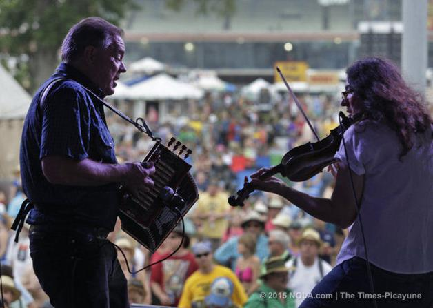 TP Article: Bruce and Gina at the Jazz Fest
